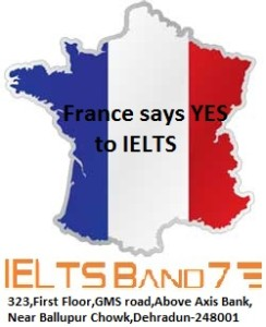 France says YES to IELTS
