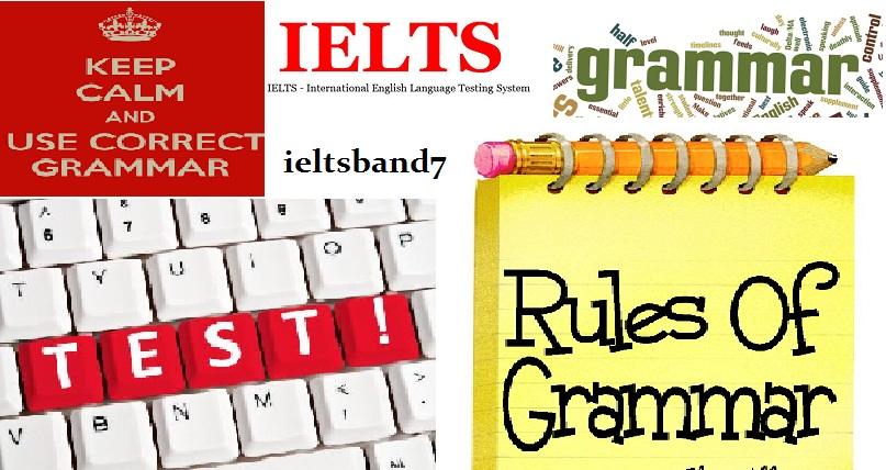 Test Grammar Skills