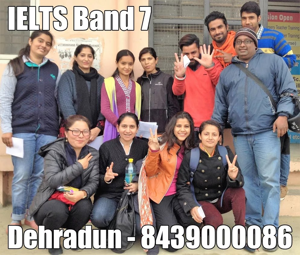 IELTS Band 7 Dehradun