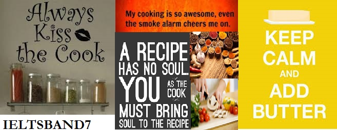 IELTS Speaking Sample Answer # Cooking - IELTS BAND7