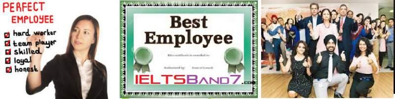Best Employee IELTS Letter