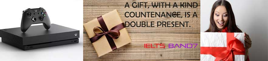 IELTS CUE CARD #SOMEONE GAVE YOU SOMETHING YOU REALLY WANTED, IELTSBAND7 DEHRADUN