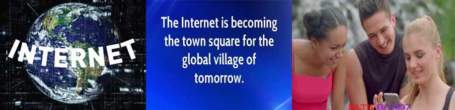 IELTS ESSAY # EVERYONE CAN GET ACCESS TO THE INTERNET, IELTSBAND7, DEHRADUN
