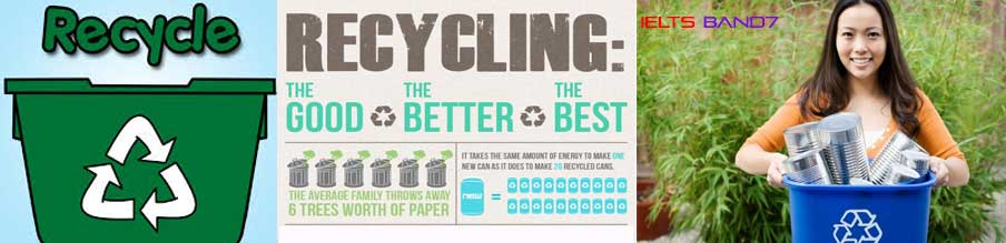 IELTS ESSAY #LAWS ARE NEEDED TO MAKE PEOPLE RECYCLE MORE OF THEIR WASTE, IELTSBAND7, DEHRADUN