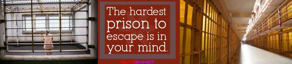 ESSAY # PRISON IS THE ONLY TRULY EFFECTIVE FORM OF PUNISHMENT, IELTS BAND7, DEHRADUN