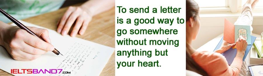 IELTS Writing: Letter to a Friend Best IELTS Band 7 Coaching in Dehradun