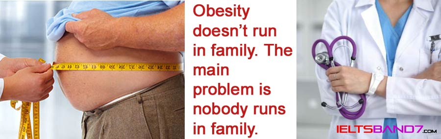 Obesity Best IELTS Band 7 Coaching in Dehradun