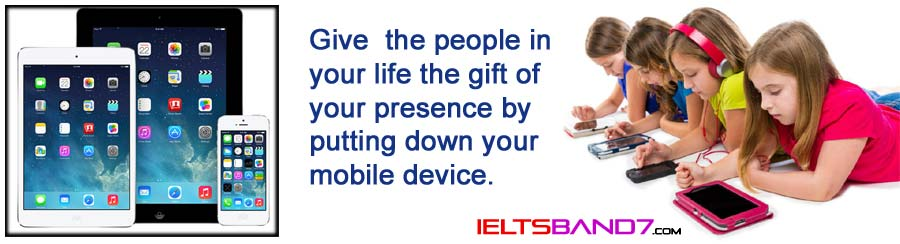 Children using tablets and smartphones Best IELTS Band 7 Coaching in Dehradun