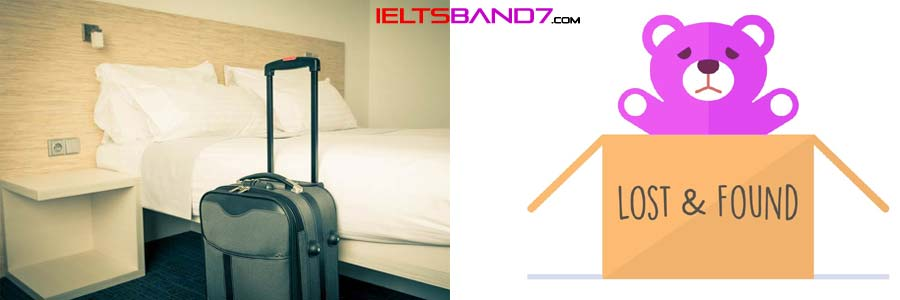 Writing Task 1: Letter to the Hotel Manager lost-and-found Best IELTS Band 7 coaching in dehradun