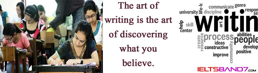 Speaking Part 2: Tell about a time when you had to write a lot. Best IELTS Band 7 Coaching in dehradun