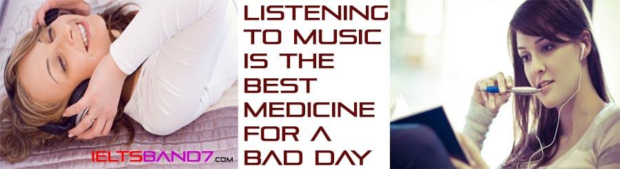 Listening-Music Best IELTS Band 7 Coaching in dehradun