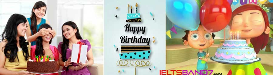 birthday Best IELTS Band 7 coaching in dehradun