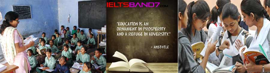 IELTS WRITING TASK 2Government or teachers responsible? Best IELTS Band 7 Coaching in dehradun