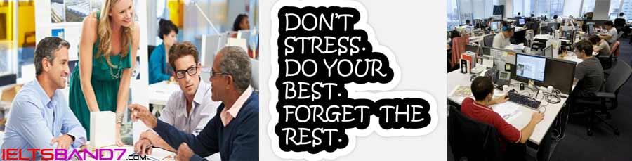 stress Best IELTS Band 7 Coaching in dehradun