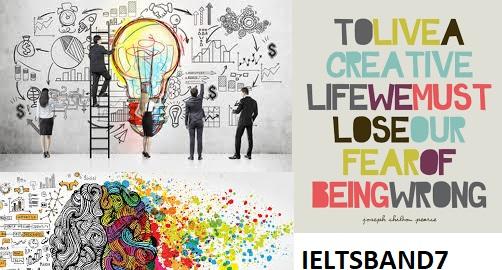 IELTS Essay Sample Answer # Creativity Skills - IELTS BAND7