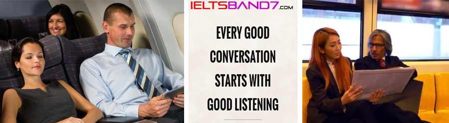 IELTS Cue Card Sample Questions # Interesting Conversation