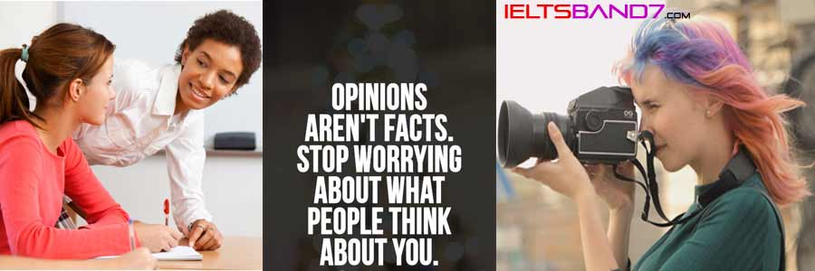IELTS SPEAKING TASK CUE CARD : DESCRIBE A PERSON WHO HAS INTERESTING OPINIONS. Best IELTS Coaching in dehradun