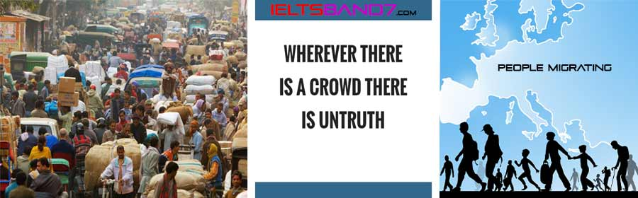 WRITING TASK 2: WHY ARE CITIES BECOMING OVERCROWDED. Best IELTS Band7 Coaching in dehradun