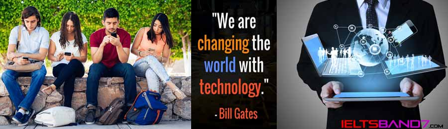 Essay # Nowadays the way many people interact with each other has changed because of technology. Best IELTS Band7 coaching in dehradun