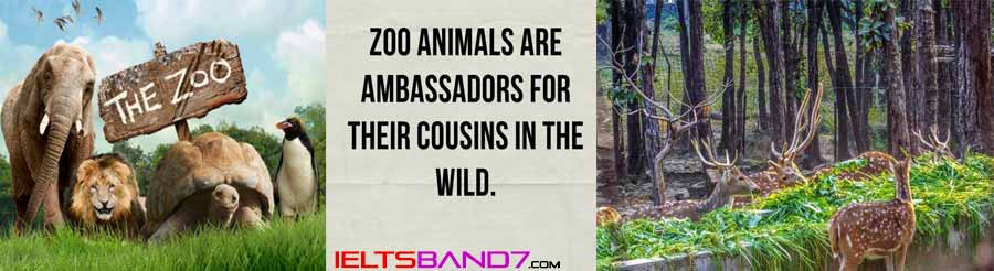 ESSAY # SOME PEOPLE THINK THAT ZOOS ARE CRUEL AND ALL ZOOS SHOULD BE CLOSED. Best IELTS Band7 coaching in dehradun
